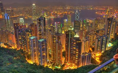 Effervescent Hong Kong (HDR Image)