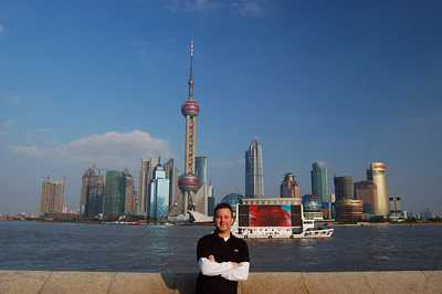 Shanghai, China: The Strking Skyline of Pudong