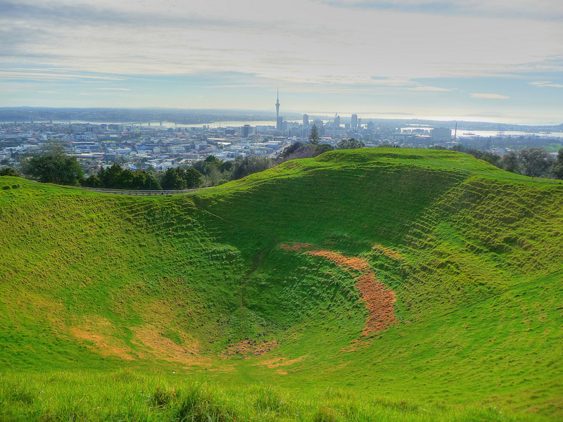 Auckland, New Zealand: Mt. Eden
