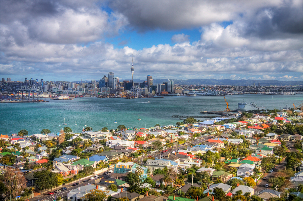 Auckland, New Zealand (HDR)