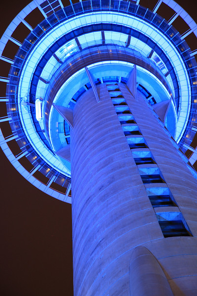 Auckland, New Zealand: The Sky Tower (HDR)