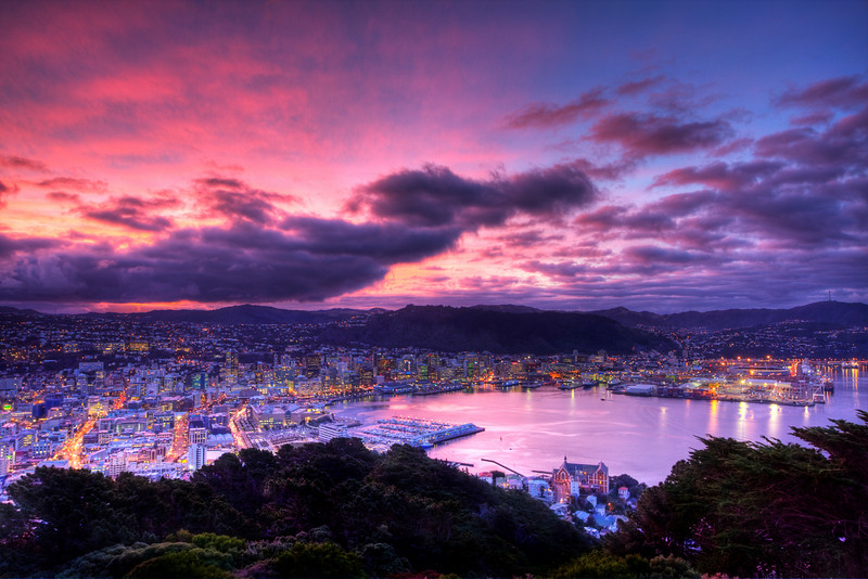 Wellington, New Zealand (HDR) Wellington is the capital of New Zealand and a city with a San Francisco vibe.