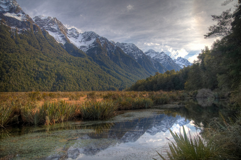 Fjordland National Park, New Zealand (HDR)<br /> Fjordland National Park is one of the most stunning parts of New Zealand.