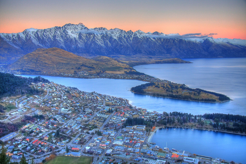 Queenstown, New Zealand (HDR)