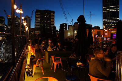 """Cookie."" A rooftop bar in Melbourne, Australia"