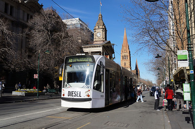 The trams of Melbourne, Australia