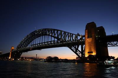 Sydney, Australia: The Harbour Bridge