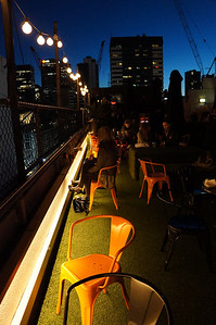 The rooftop bar scene in Melbourne, Australia