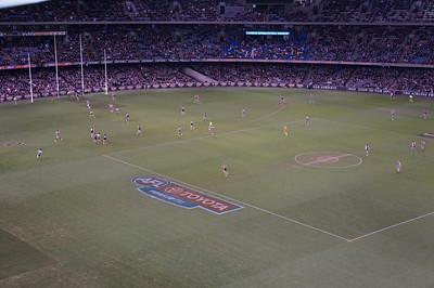 AFL: Australian Rules Football at Ethiad Stadium in Melbourne, Australia