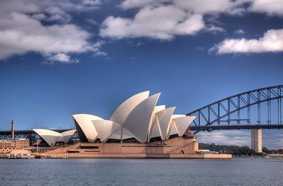 Sydney, Australia (HDR): The Sydney Opera House is an Australia icon.