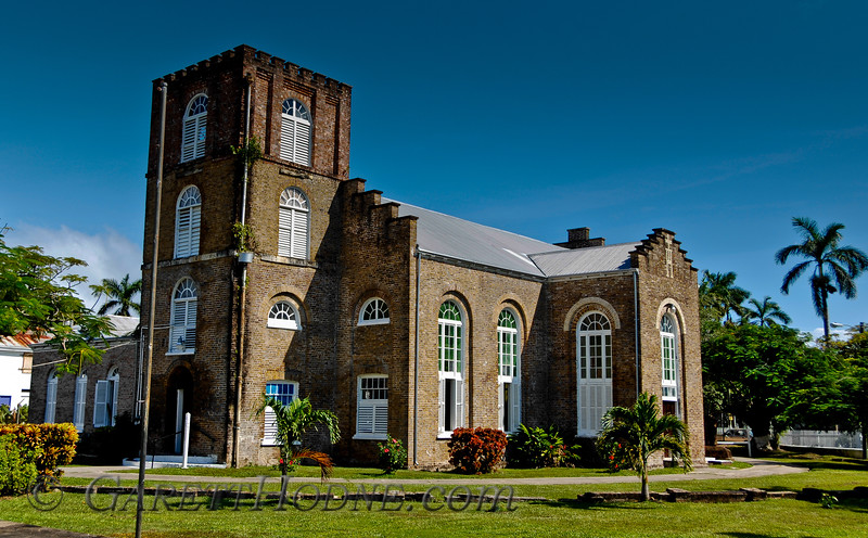 Church in Belize City