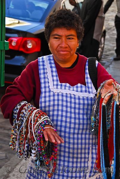 Mexican Jewelry vendor