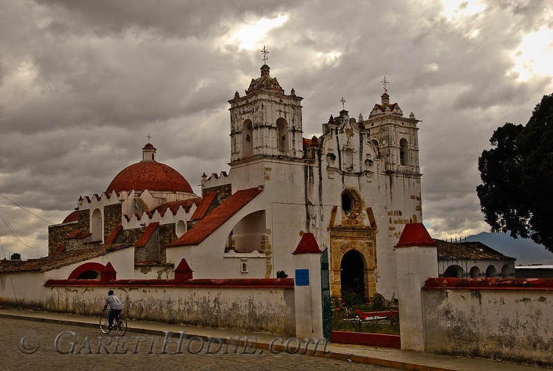 Church near Oaxaca