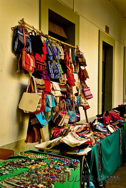 Vendor's wares in Oaxaca