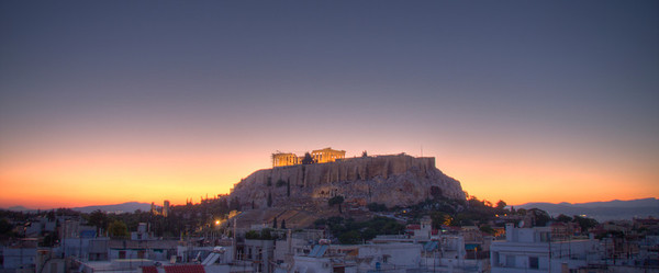 The Acropolis of Athens. (HDR)
