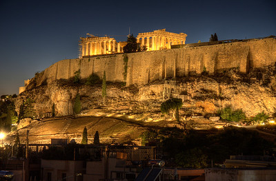 The Golden age of Greece. (HDR)
