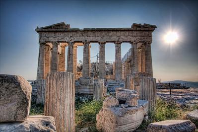 The Parthenon. Athens, Greece (HDR)