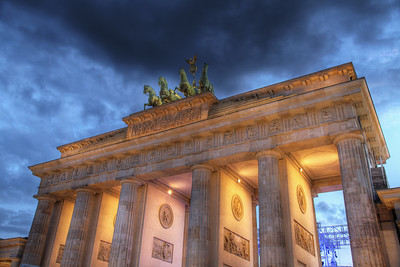 Brandenburg Gate (HDR)