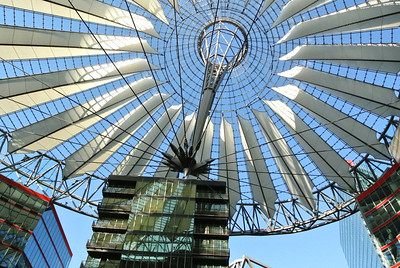 The Sony Center, Berlin, Germany