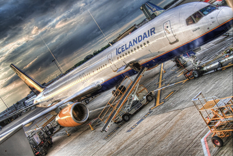 Icelandair: The only way to get to Iceland (HDR)