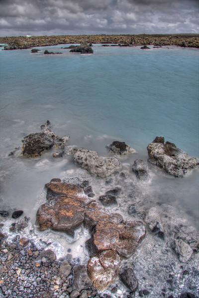 The Blue Lagoon. Reykjavik region, Iceland (HDR)