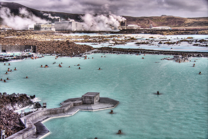 The Blue Lagoon: Iceland's iconic thermal pool (HDR)