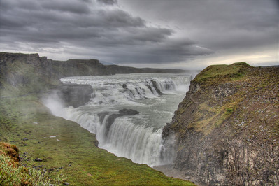 Gulfoss. Central Iceland (HDR)