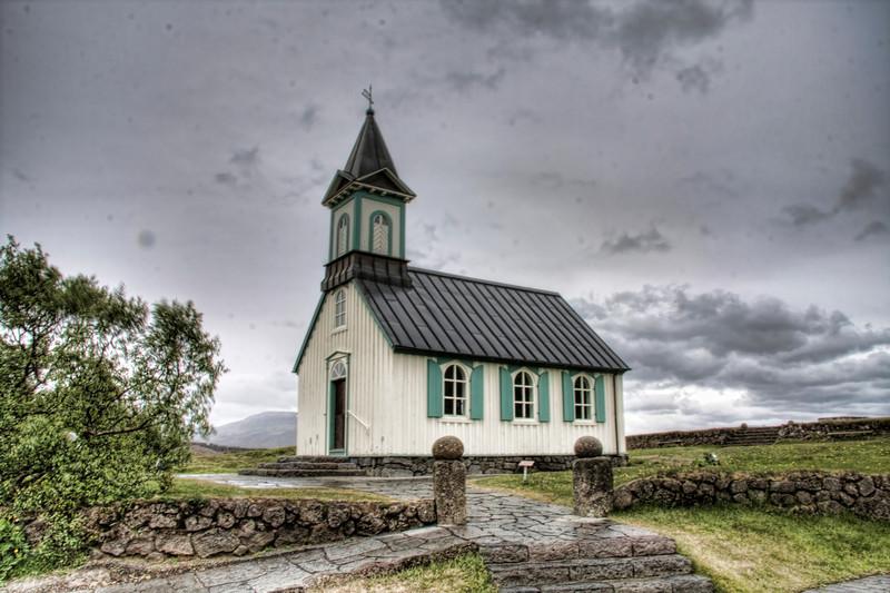 Pingveller National Park. Central Iceland (HDR)