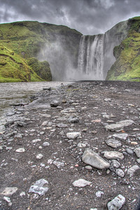 Skogafoss. South Iceland (HDR)