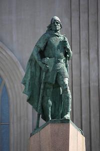 Leif Ericson; Reykjavik's founding father