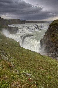 Gullfoss. Central Iceland (HDR)