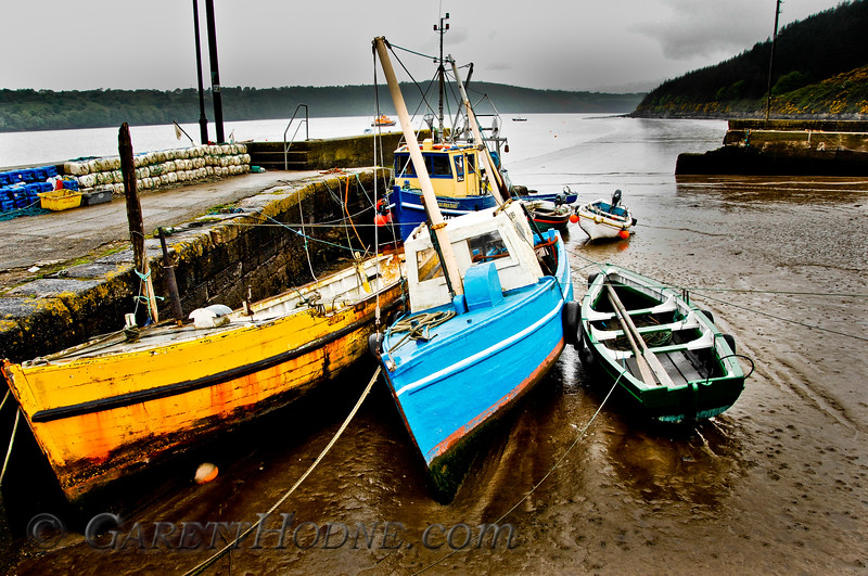 Fishing boats at Ballyhack