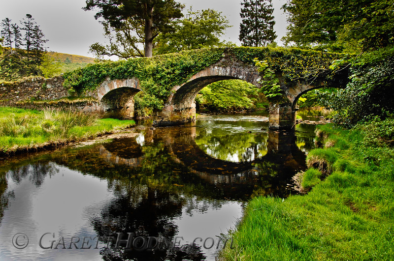 Old Stone Bridge near Meeting of the Waters