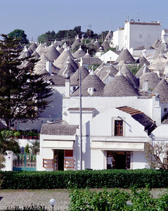Trulli houses at Alberobello