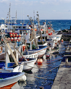 Harbor of Acitrezza at Sicily