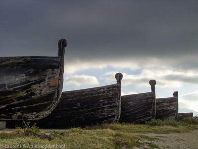Old Boats at Tonnaro