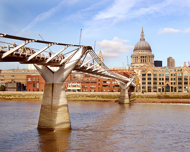 The Millennium Bridge & St. Paul's Cathedral