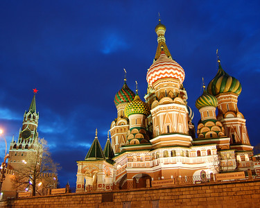 St. Basil's Cathedral, Moscow, Russian Federation
