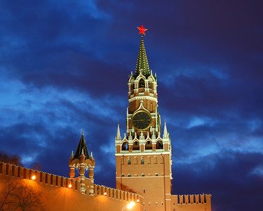 Spassky Tower of the Kremlin, Moscow, Russian Federation