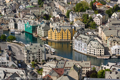 Center of Ålesund