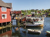 Fishermans boats at The village �