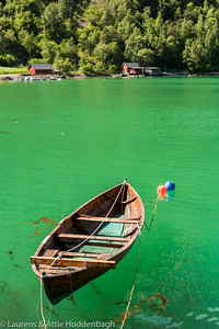 Boat at Tafjord