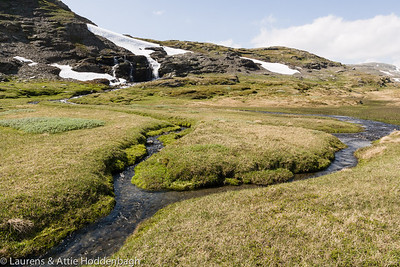 Stream at the F243-Laerdalsøyri-Aurlandsvangen