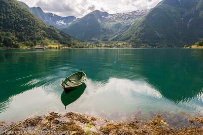Boat at Sognefjorden