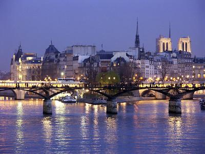 Ile de la Cite and Pont Neuf: Paris, France