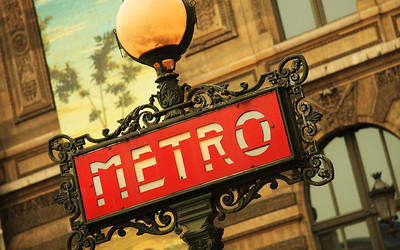 Elegant Mass Transit: The Paris Metro