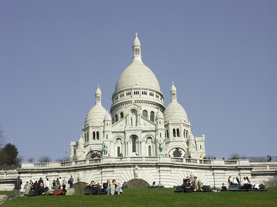 The City of Lights: Sacre Coeur