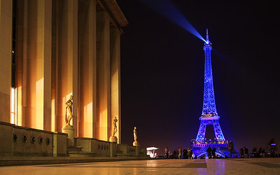The Stage of Paris: Le Tour Eiffel from the Trocadero