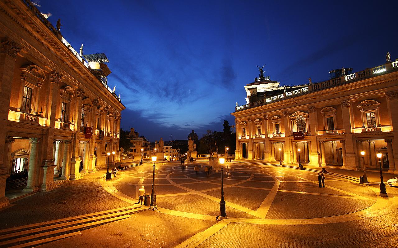 Michaelangelo's Playground: Piazza de Campidoglio