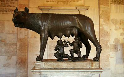 The Symbol of Rome: She-Wolf, Romulus, & Remus at the Capitoline Museum